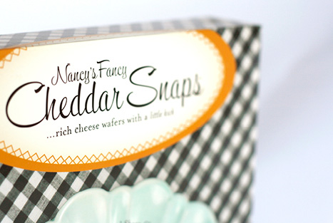 Nancy's Fancy Cheddar Snaps